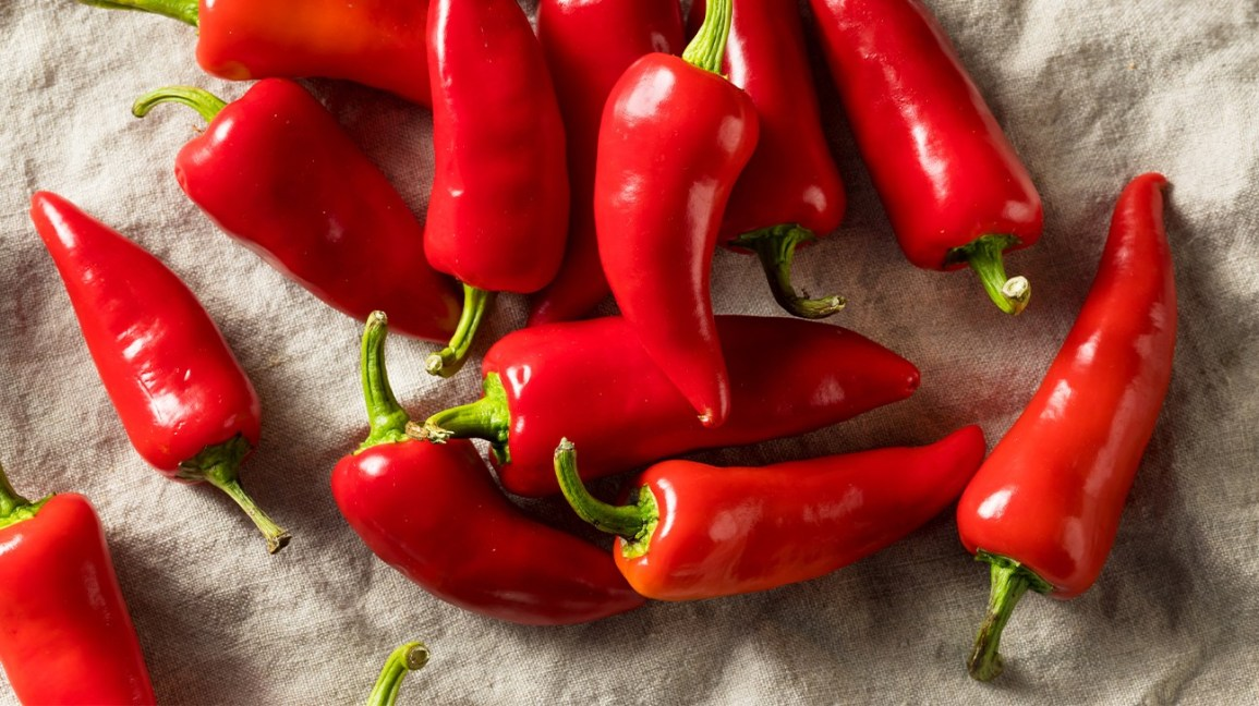 red peppers for a capsaicin nutrition blog